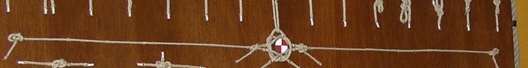 Zeilschip Abel Tasman knopenbord
